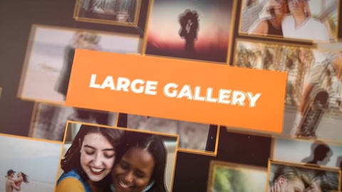 Fast Large Gallery Apple Motion Template