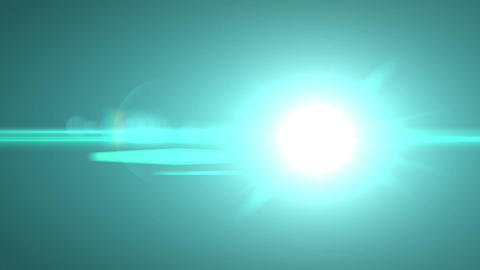 Light flare fast Animation