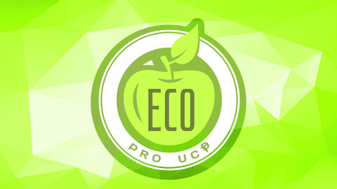 eco food product brand with guaranteed freshness for consumers wellbeing and healthy meals over Animation