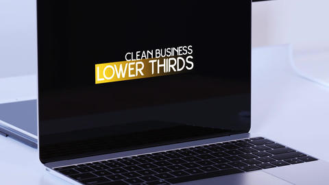 Corporate Lower Thirds Premiere Pro Template
