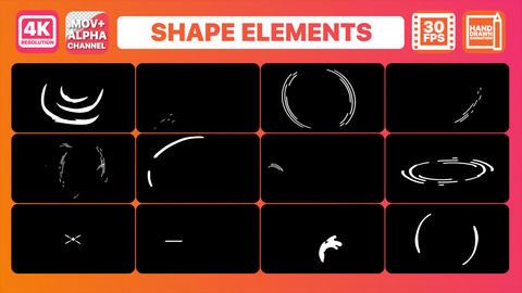 Shape Elements | Motion Graphics Pack Animation