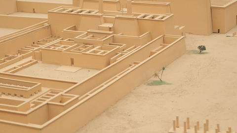 View of Building Exterior in Miniature Live Action