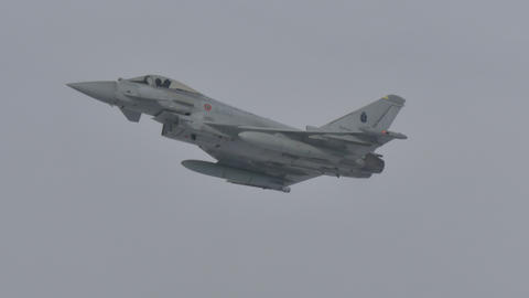 Fighter Aircraft in Flight Live Action