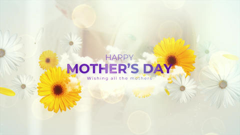 Mother Day Background Wish 4K Animation