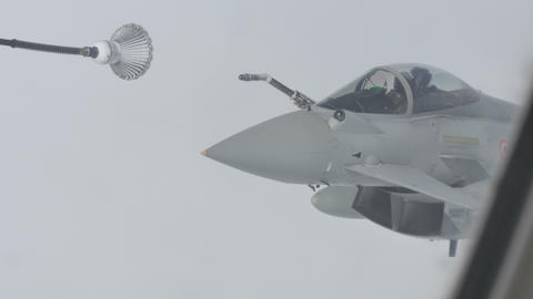 Fighter Aircraft Air Refueling Live Action