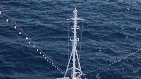Ocean ship bow P HD 4265 Footage