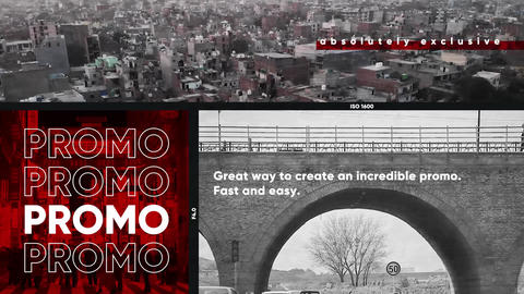 Multiframe Urban Glitch Media Opener Plantillas de Premiere Pro