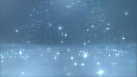 Blurred Meteor Shower Animation