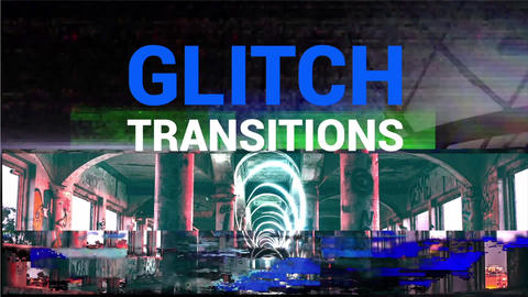 Glitch Transitions Apple Motion Template