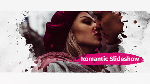 Romantic Slideshow Premiere Pro Template