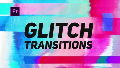 Glitch Transitions Premiere Pro Effect Preset