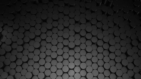 Abstract Cylindrical Geometric Surfaces Animation