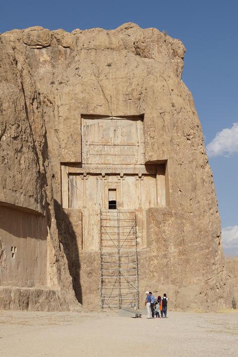 Necropolis, Naqsh-e Rostam, Iran, Asia Photo
