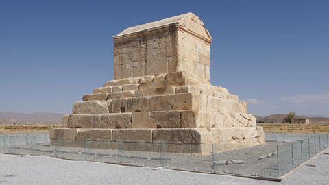 Kyrus tomb, Pasargadae, Iran, Asia Photo