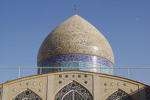 Hazireh Mosque, Yazd, Iran, Asia Photo