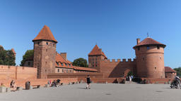 Entrance to the Malbork castle and external fortifications Live Action