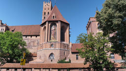 Castle of the Teutonic Order in Malbork Live Action