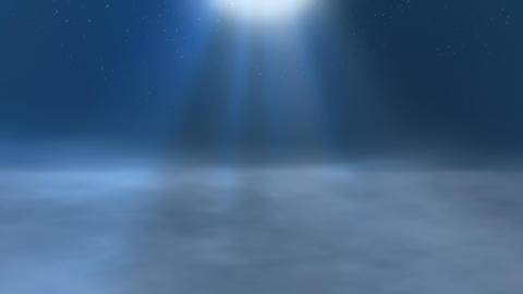 Dim Foggy Space under the Starry Sky CG動画