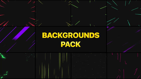Speed Backgrounds Plantillas de Motion Graphics
