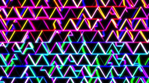 Neon Herringbone 1 - Close-Up CG動画