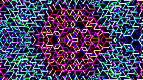 Neon Herringbone 2 - Kaleido Videos animados