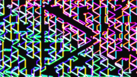 Neon Herringbone 3 - Arrow CG動画