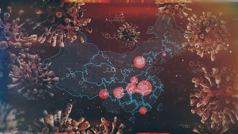 Mapping Epidemic Outbreak in China Animation
