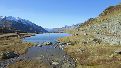 Susten pass - mountain pass in Switzerland Live Action
