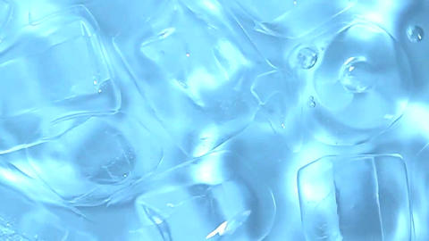 Abstract frozen pattern suggesting ice cubes Stock Video Footage