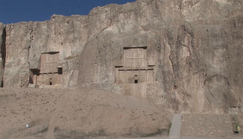 The ancient village of Kandovan in Iran. The village was... Stock Video Footage