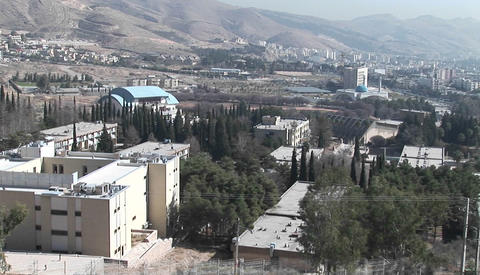A modern city in Iran Stock Video Footage