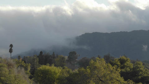 Time lapse of clouds at sunset in Casitas Springs,... Stock Video Footage