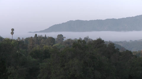 Time lapse of clouds at sunrise in Casitas Springs,... Stock Video Footage