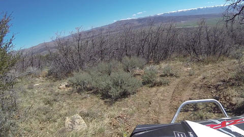 Recreation ride 4x4 high mountain trail HD 341 Footage