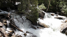 River waterfall forest Utah mountains P HD 0634 Footage