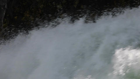 River waterfall close flow P HD 2399 Footage