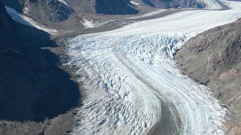 Salmon Glacier pan P HD 0220 Footage