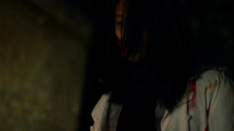 Wild zombies wake up at night, wander dark city streets in search for victims Live Action