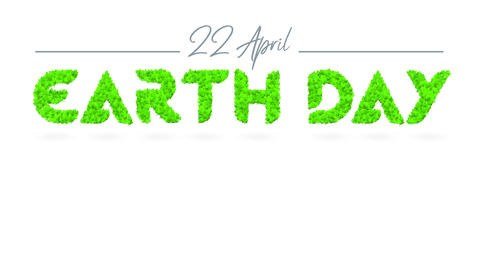 earth day promotional advertising towards create awareness of our house and promote environmental Animation