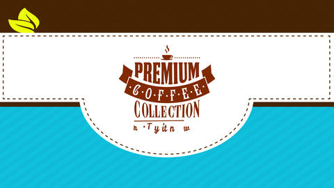 best collection package for instant special gourmet natural coffee to prepare quality fresh dark Animation