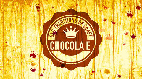 industrial chocolate contract trademark handling aged traditions of craft as concept science with Animation
