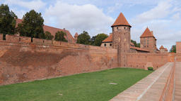 External fortification of Malbork castle Acción en vivo