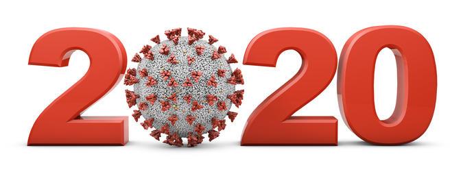 2020 and coronavirus covid-19 Photo