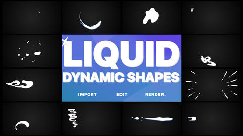 Dynamic Liquid Shapes Pack Animation