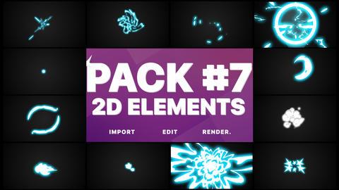 Energy Elements Pack Animation