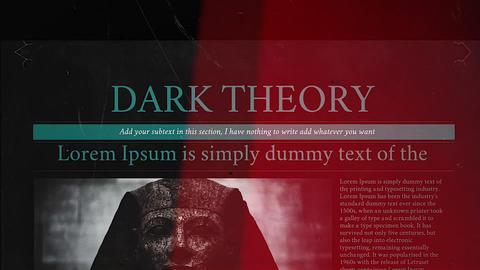 Dark Theory Apple Motion Template