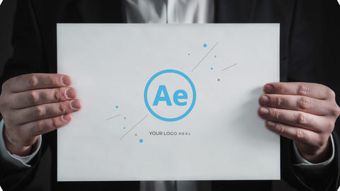 Simple Search Logo After Effects Template