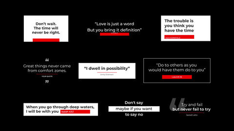 Quotes After Effects Template