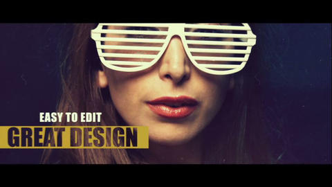 Quick Slides Opener After Effects Template