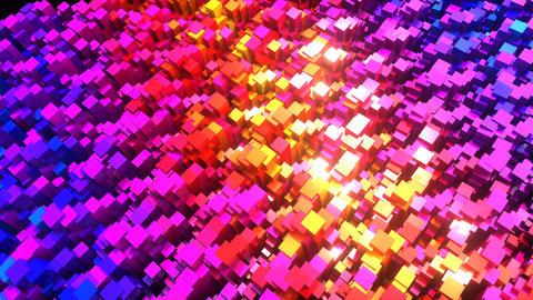 Rainbow Cubes Animation